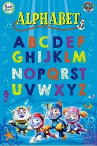 Paw-Patrol-Under-The-Sea-ABC-Alphabet-POSTER-61x91cm-NEW