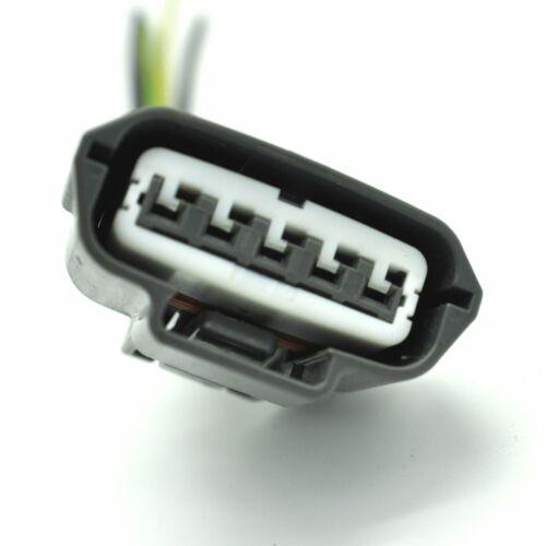 Mass Air Flow Meter MAF Sensor Connector Plug pigtail For 00-06 Nissan 4pin 5PIN