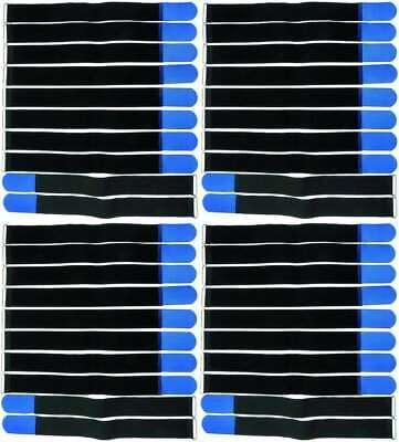 DináMica 40 Bandas Velcro Cable Velcro 500 X 50mm Azul Cable Cinta De Velcro Bridas Cinta De Velcro