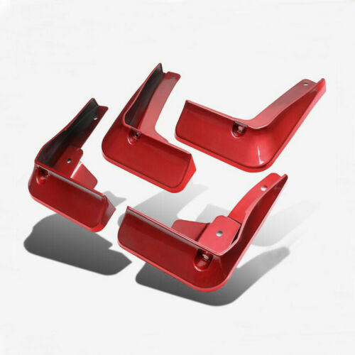 FIT FOR TOYOTA CAMRY 2018-2020 MUD FLAP FLAPS SPLASH GUARDS MUDGUARDS RED 4PCS