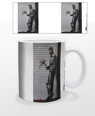 FOLLOW YOUR DREAMS 11 OZ COFFEE MUG TEA CUP BANKSY POLITICAL SOCIAL GRAFFITI ART