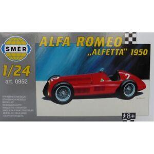 Alfa-Romeo-Alfetta-1950-Course-Voiture-1-24-Modele-Plastique-Kit-Smer-0952