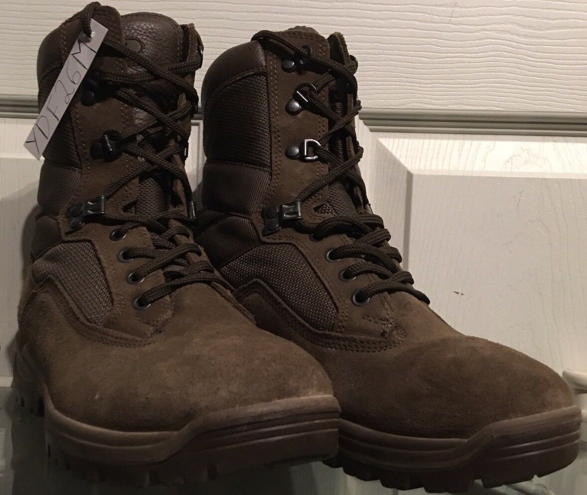 YDS Falcon Army Issue Braun Suede MTP Female Combat/Assault Stiefel 6M YDF26M