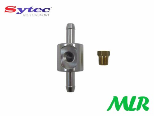 Sytec 8MM Kraftstoffleitung Adapter für Manometer FGA100 Er