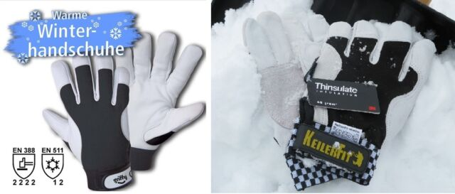 6 Paar Keiler FIT Handschuh  GR.9 Forsthandschuh Neu Keiler Forst