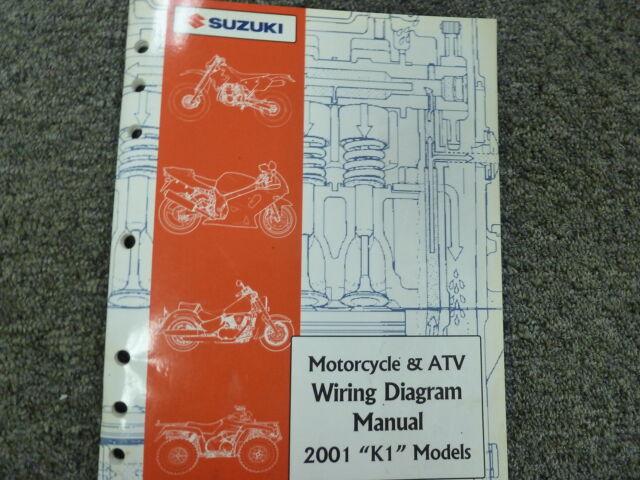 2001 Suzuki Katana Gsx Sv650 Intruder Gsxr Motorcycle Atv