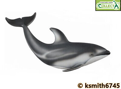 CollectA GANGES RIVER DOLPHIN solid plastic toy wild Asian aquatic animal NEW