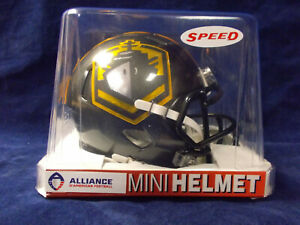 0123a243 Details about AAF San diego Fleet RIddell Speed Mini Helmet (ALLIANCE OF  AMERICAN FOOTBALL)