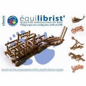 Jeu-de-construction-en-bois-Equilibrist-039-sans-outils-ni-colle-100-Naturel