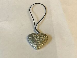 Love Heart Tg160 Fine English Pewter Mobile Phone Charm Aesthetic Appearance Pins & Brooches Jewelry & Watches