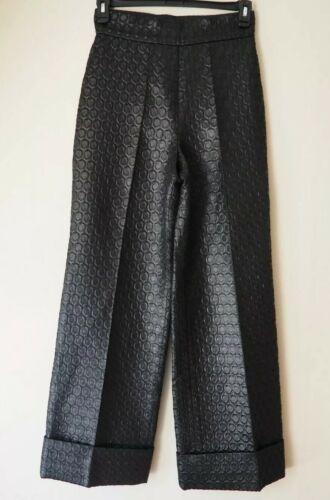 PRADA 1990's Vintage Pants Trousers Circular Desi… - image 1