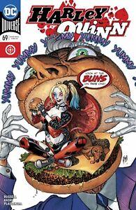 Harley-Quinn-69-1st-appearance-of-Hambezzler-DC-Comic-1st-Print-2019-unread-NM