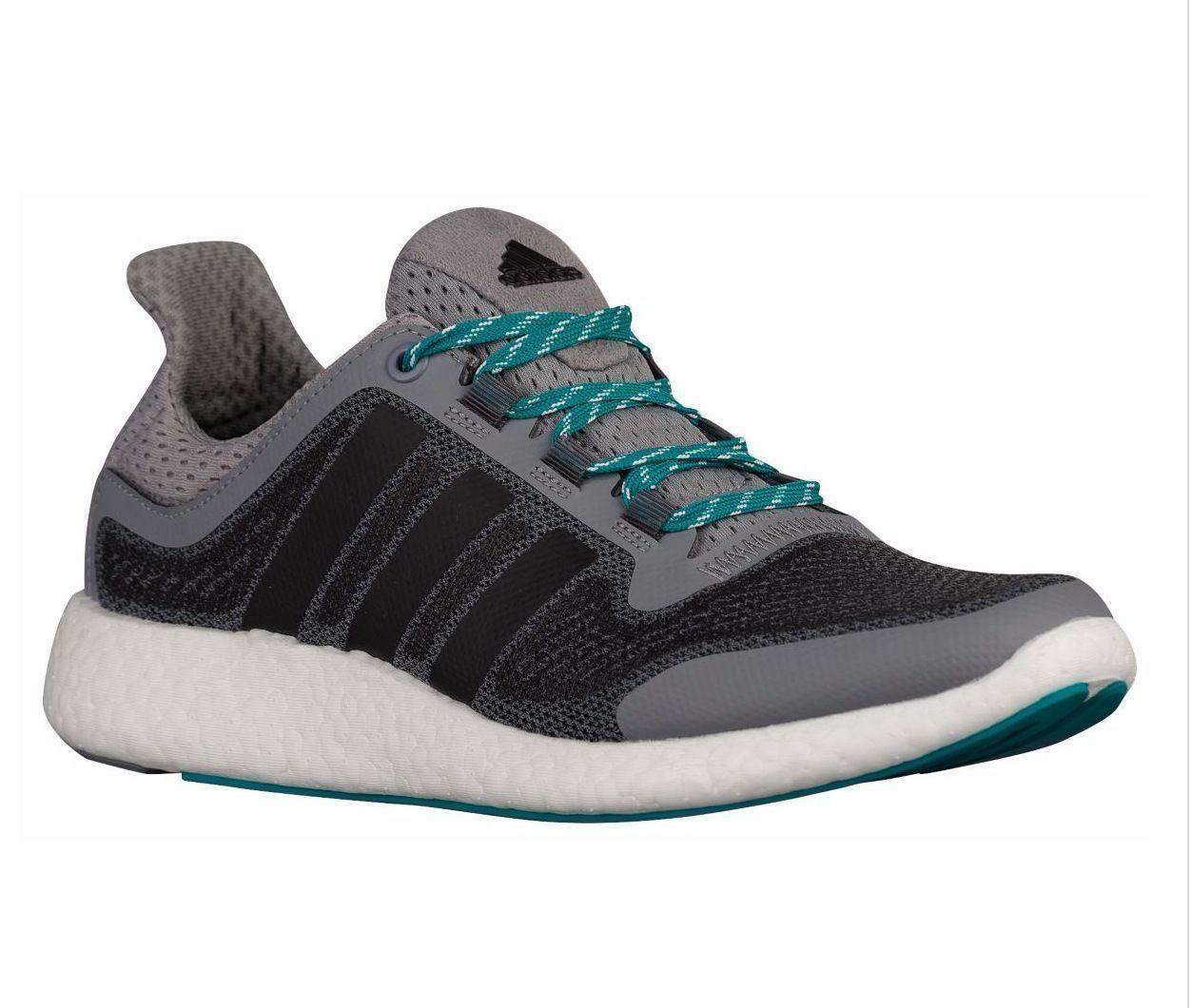 Adidas Hombre Pureboost 2M gris Textil Zapatillas Running Aq4440