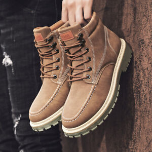Men-039-s-New-Retro-Casual-Working-Boots-Shoes-Athletic-Soft-Sports-Sneaker-Non-slip