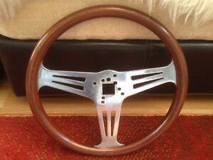 Classic Car Wooden Steering Wheel Early Walsall Wheels Ltd Les Leston