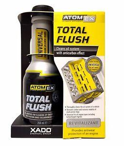 XADO-Atomex-Total-Flush-Motorspuelung-Motor-Ol-Reiniger-Verschleiss-Schutz-Additiv