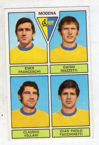 VELLANI CALCIATORI PANINI 1971//72 NEW figurina MODENA FRANCESCHI MAZZATTI