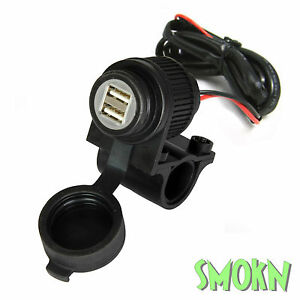 Smartphone USB Device Charger Bikeit 12V Ipod Iphone