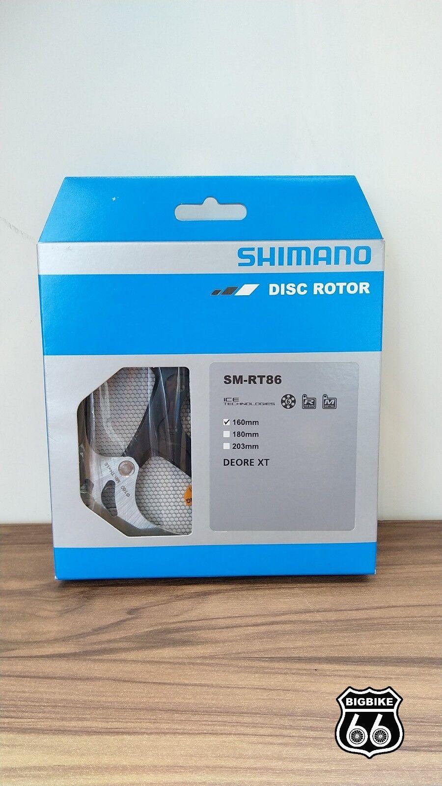 Shimano XT RT86 160mm  6-Bolt IceTech Disc Brake redor  cheapest price