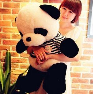 55CM Kids Toy Big Size Cute Plush Doll Toy Stuffed Animal Panda Pillow Bolster