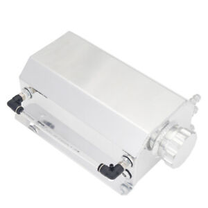 Universal-2L-Coolant-Radiator-Overflow-Recovery-Water-Tank-Bottle-Aluminum-New