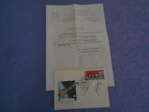 ASTP Beleg original signiert Leonov,Koubassov Coa Space