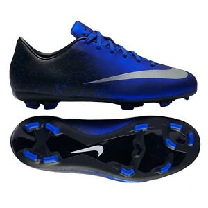 NIKE CR7 MERCURIAL VICTORY V CR FG JUNIOR YOUTH SOCCER FUTSAL SHOES ... ae15c51b3bb