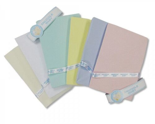 Cotton Fitted Pram Sheet 209