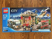 60008 LEGO SET NEW in Box Sealed City Museum Break-in Retired Police Helicopter