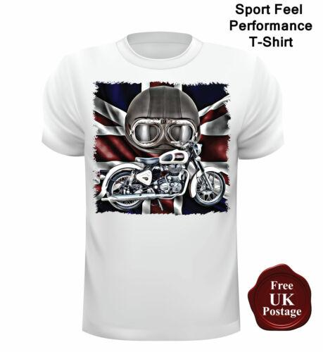 Motorbike T Shirt British Bike T Shirt Royal Enfield T Shirt Unofficial