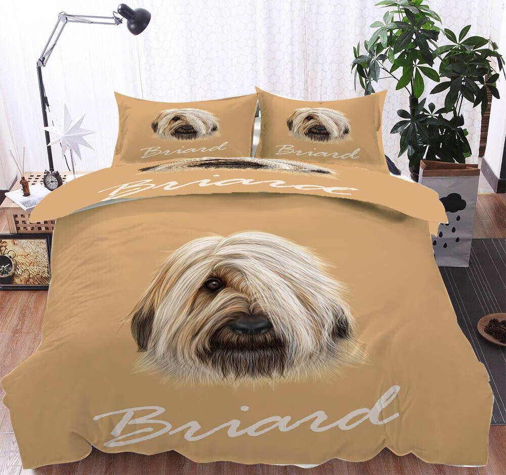 A Hund Startseites Eye 3D Druckening Duvet Quilt Will Startseites Pillow Case Bettding Sets