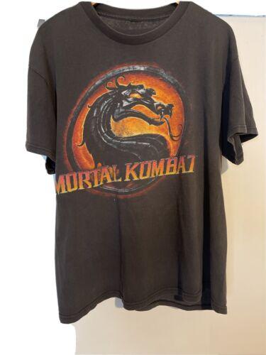 Vintage Mortal Kombat T Shirt Size Large