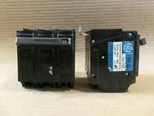 New Take Out Ge Thql32030 3 Pole 30 Amp 240v Paper Label Circuit Breaker