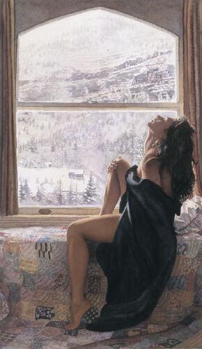 "/""On the Warm Side of Winter/"" Steve Hanks Limited Edition Fine Art Print"