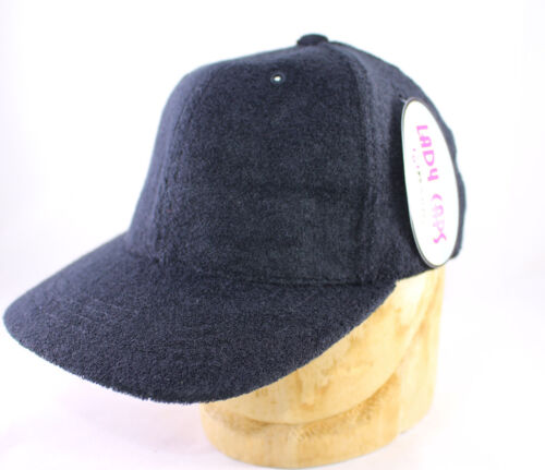Tissu éponge casquette de baseball par Magic Headwear en Noir Ou Bleu Marine Neuf Avec Étiquettes