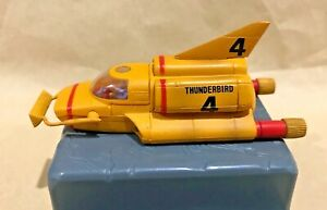 VINTAGE-THUNDERBIRD-4-TB4-DETAILED-PLASTIC-SUBMARINE-MODEL-TOY-KONAMI-JAPAN-NM