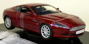 Motormax-1-24-Scale-73321-Aston-Martin-DB9-Coupe-Dark-red-Diecast-model-car