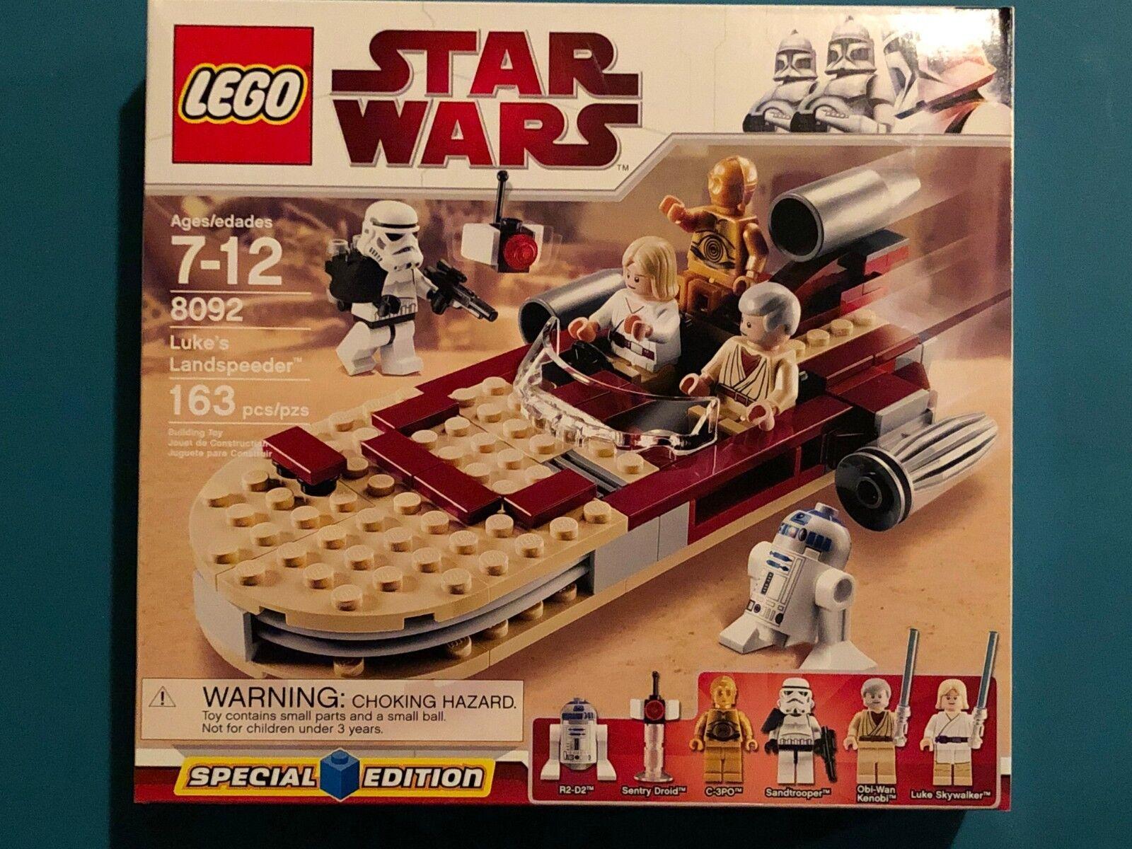 LEGO STAR WARS LOT 8092 75198 75136 A NEW HOPE ANAKIN OBI-WAN JAWA SEALED