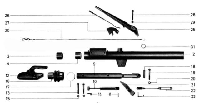 Peitz PAV/SR Ausf. A-S Ersatzteile Explosionszeichnung
