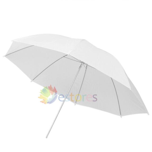 "40"" 102cm Photograph Video Studio Lighting Flash Umbrella Translucent White Soft"