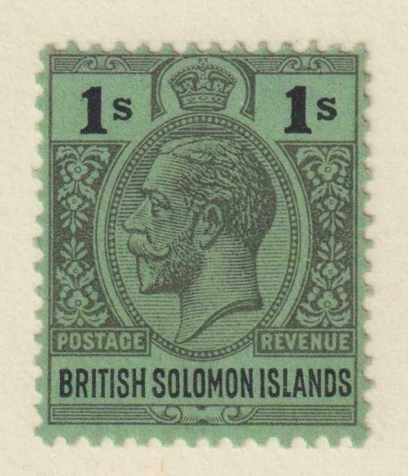 BRITISH SOLOMON ISLANDS 52  MINT HINGED OG * NO FAULTS EXTRA FINE!