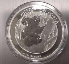 2013 AUSTRALIAN SILVER KOALA 1 OZ. .999 IN HOLDER. - FULL ROLLS AVAILABLE