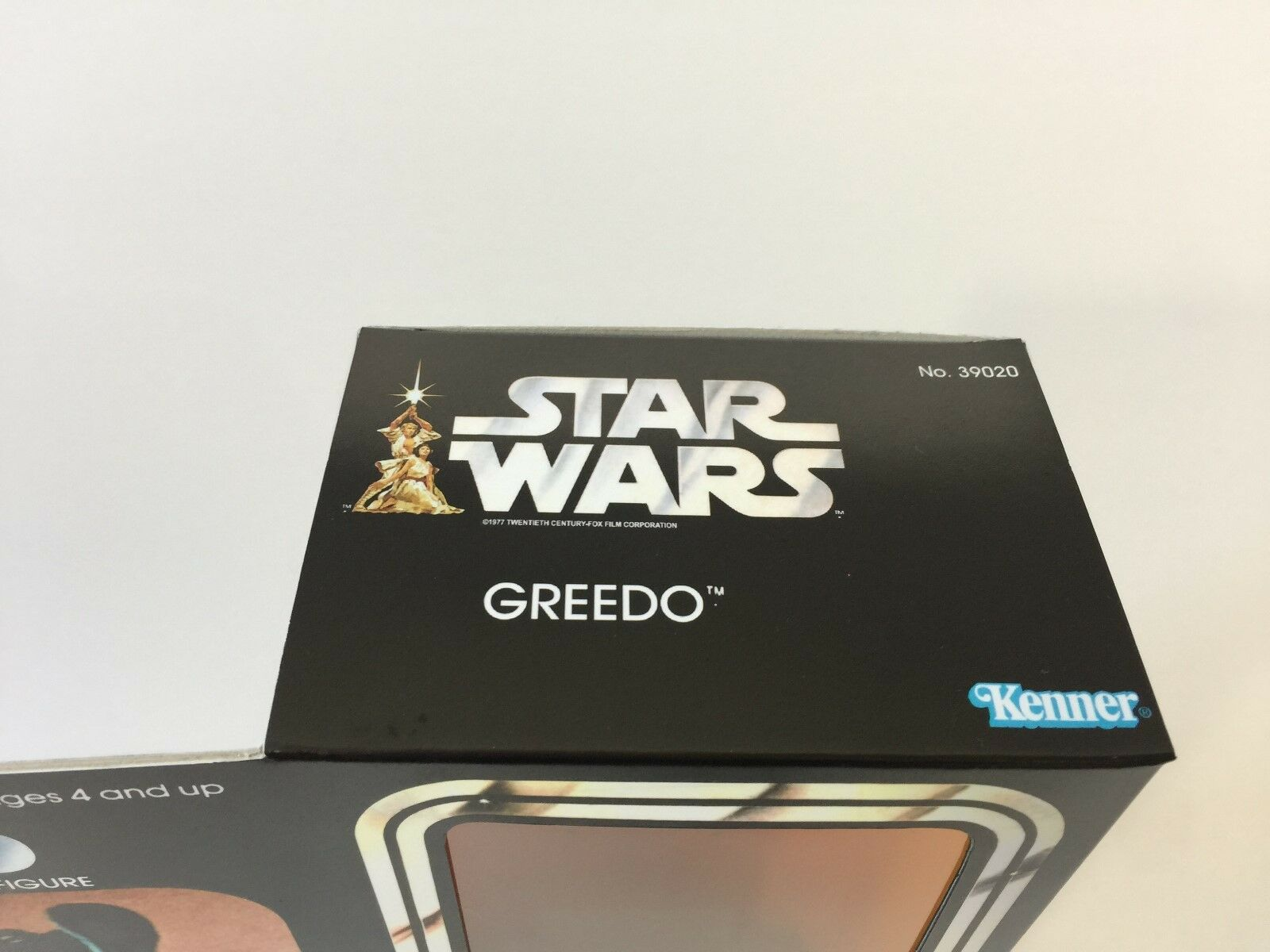 Custom Vintage Star wars 12  greedo greedo greedo box + inserts 5dfd2f