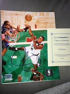 Boston-Celtics-Paul-Pierce-8x10-Signed-Picture