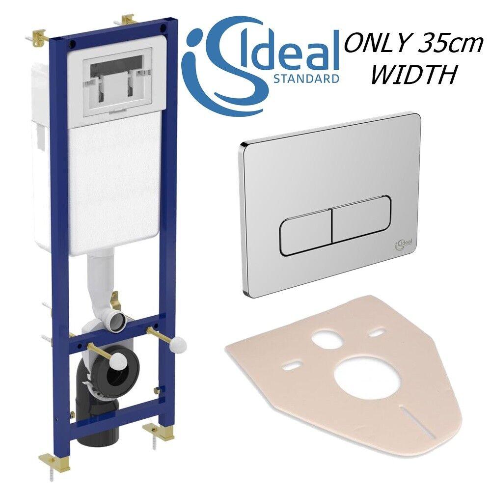 Ideal Standard Wc Cisterna Oculta Baño Colgado De Marco