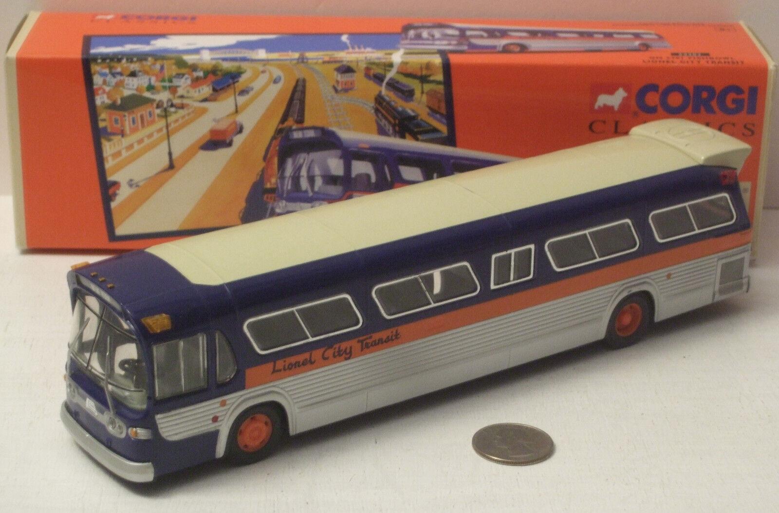 Corgi Pecera ciudad de Nueva York Lionel Transit Bus GM5301 54302 Nuevo En Caja Escala 1 50