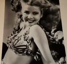 GLORIA DE HAVEN /  LOVELY  8 X 10  B&W  PHOTO