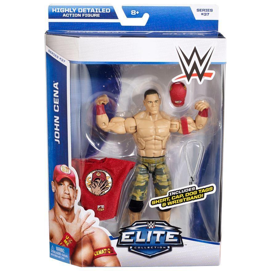 Official WWE Mattel Elite Series 37 John Cena Action Figure