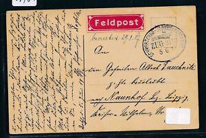 09484) Bahnpost Ovalstempel Schwarzenberg-johanngeorgenst. Train 3119, Fp 1917-t. Zug 3119, Fp 1917fr-fr Afficher Le Titre D'origine