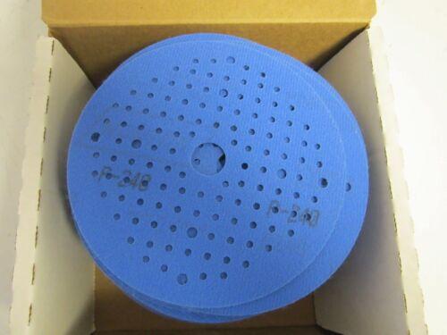 """100 Norton Multi-Air 5/"""" A975 Sanding Discs 320 grit SPEED GRIP HOOK//LOOP R"""
